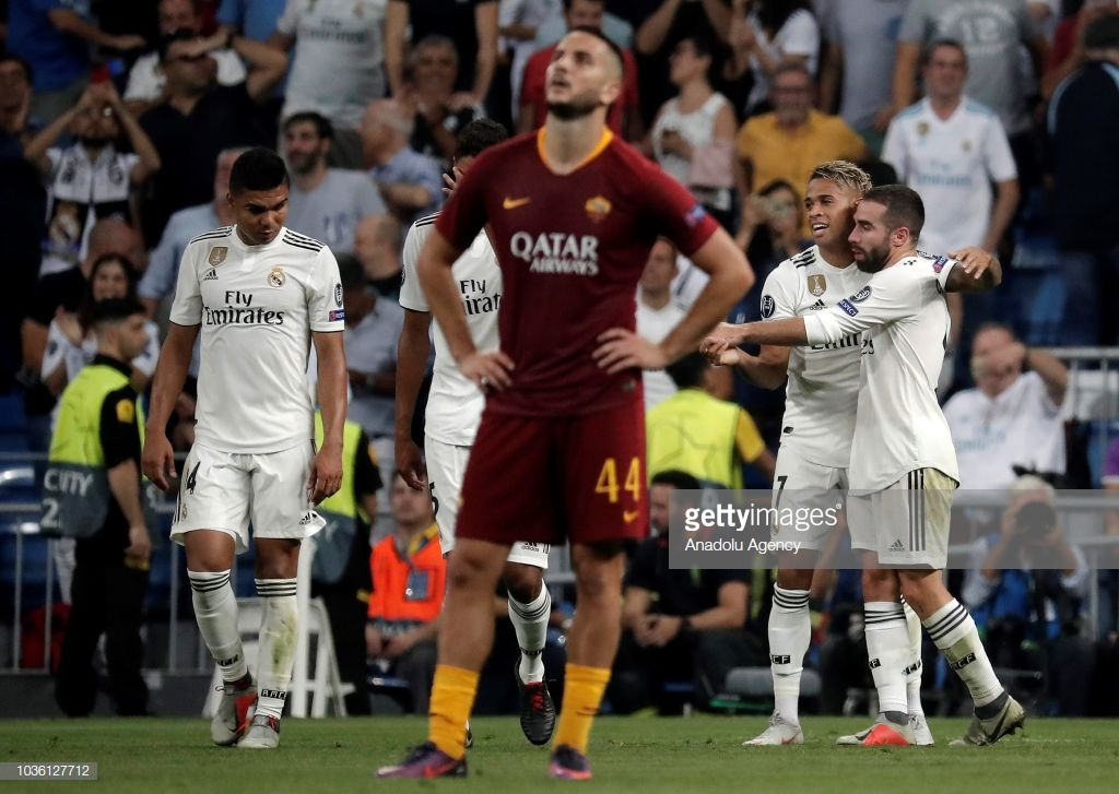 Real Madrid vs AS Roma - UEFA Champions League