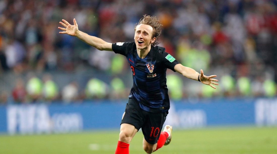 Football: Croatia vs England at World Cup