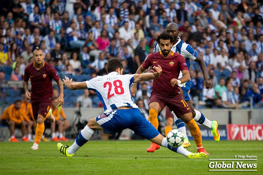 UEFA Champions League: FC Porto vs AC Roma