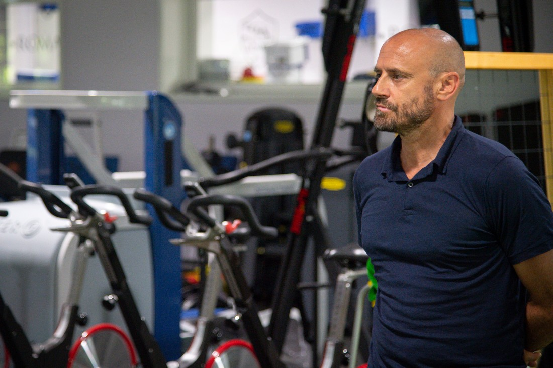 AS Roma, Gianluca Petrachi visita il centro sportivo Fulvio Bernardini