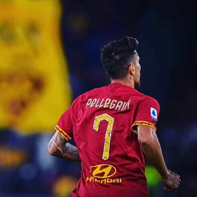 Roma's Player of the Month: December Lorenzo Pellegrini #727 – Everything  Roma
