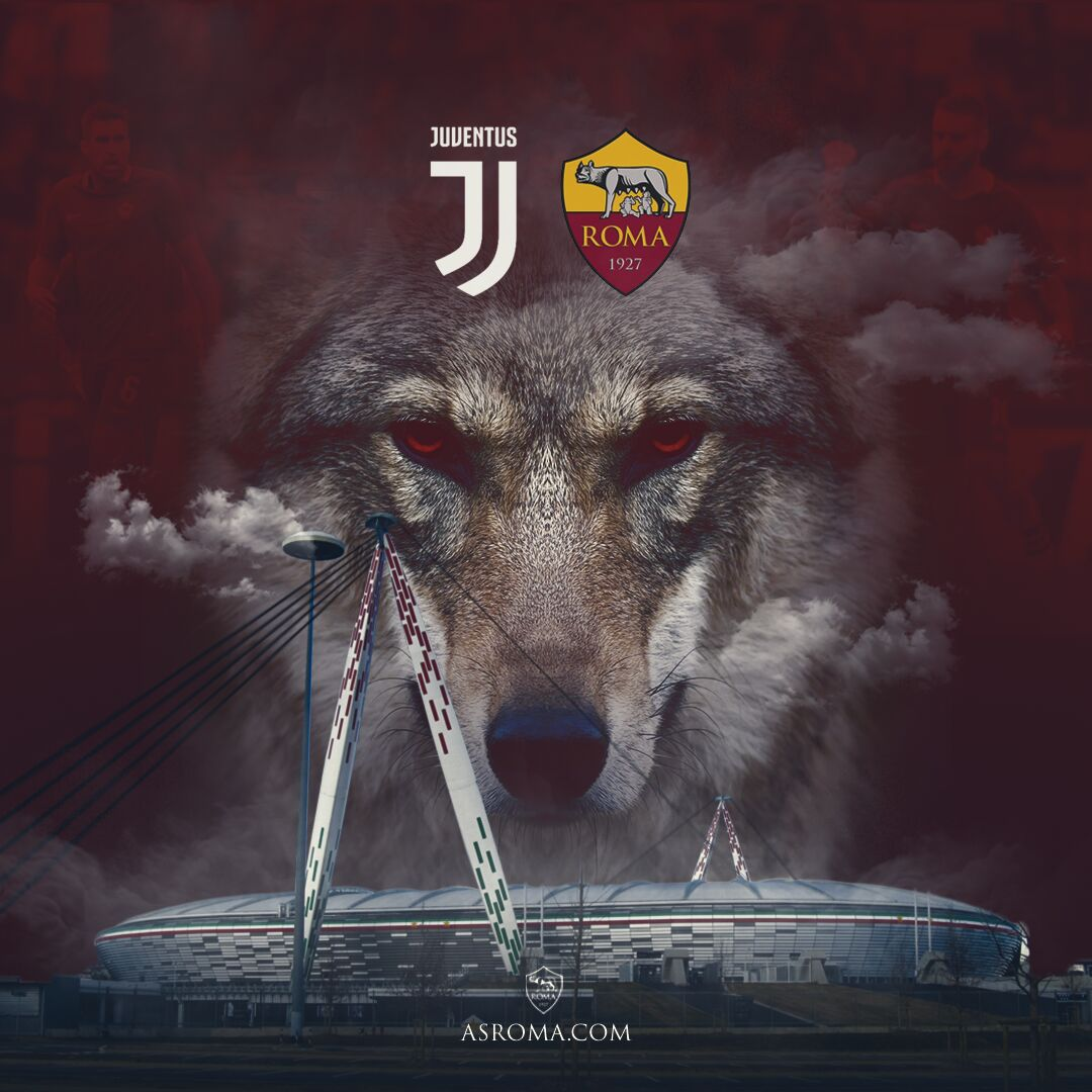 Image result for Roma vs Juventus wolf