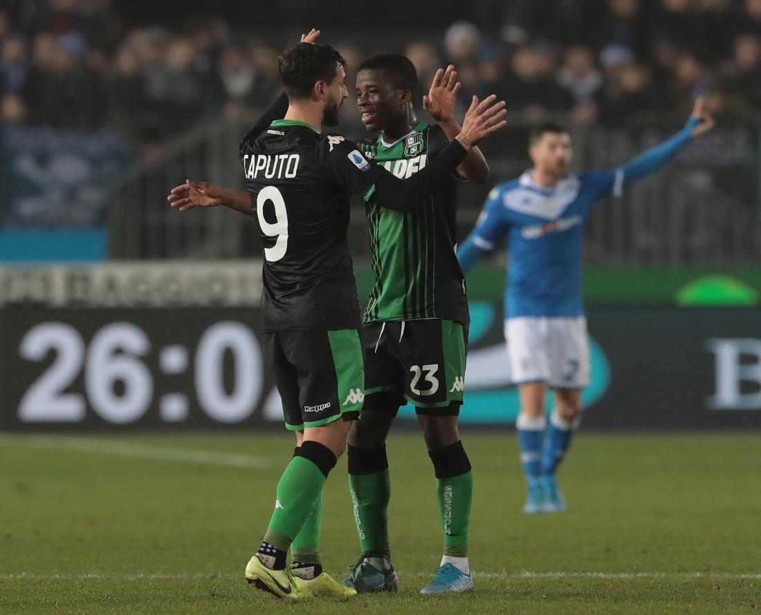 Brescia Calcio v US Sassuolo - Serie A