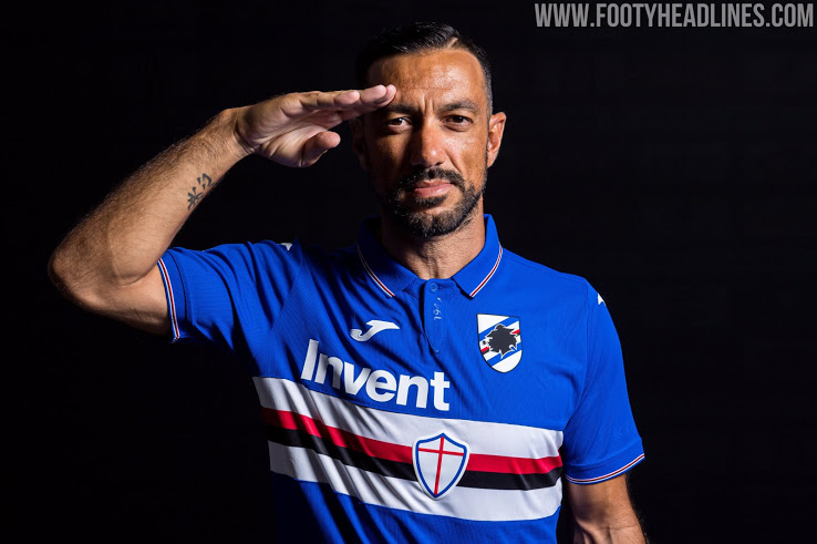 Sampdoria 19-20 Home Kit Revealed - Footy Headlines